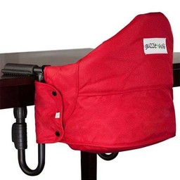 Guzzie + Guss Guzzie + Guss - Siège de Table Perch/Perch Clip On Chair, Rouge/Red