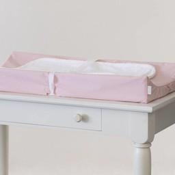 Bouton Jaune Bouton Jaune - Housse pour Matelas à Langer/Changing Matress Cover, Liberté, Pois Rose/Pink Dots