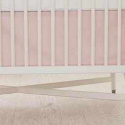 Bouton Jaune Bouton Jaune - Jupe de Lit/Bedskirt, Liberté, Pois Rose/Pink Dots