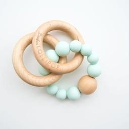 Loulou Lollipop Loulou Lollipop - Jouet de Dentition Bubble/Bubble Teether, Menthe/Mint