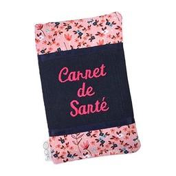 Oops *Oops - Protège Carnet de Santé Double/Double Cover for Health Book, Romance Rose/Pink Romance