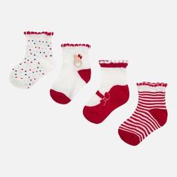 Mayoral Mayoral - Ensemble de (4) Paires de Chaussettes/Set of (4) Pair of Socks