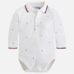 Mayoral Mayoral - Cache-couche Polo Imprimé/Printed Polo Body