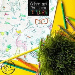 Rue Tabaga Rue Tabaga - Coloriage Magique/Magic Coloring, Festif/Festive