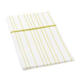 *Taie d'Oreiller Standard 20x34 de Little Auggie/Little Auggie 20x34 Standard Pillow Case, Rayures Vertes/Painted Stripe Fern