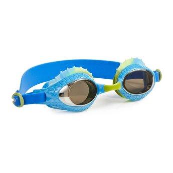 Bling 2 O Bling-2-O - Lunettes de Piscine/Swim Googles, Larry The Lizzard, Dragon Bleu/Blue Dragon