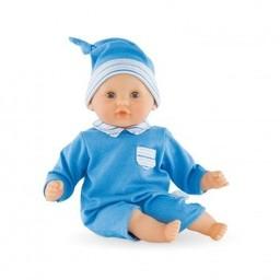Corolle Corolle - Poupée Mon Premier Calin Bleu/My First Blue Hug Doll