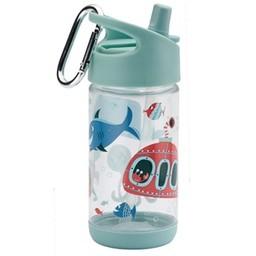 Sugarbooger Sugarbooger - Gourde Flip and Sip/Flip and Sip Bottle, Océan/Ocean