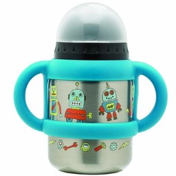 Sugarbooger Sugarbooger - Gobelet Flip and Sip/Flip and Sip Sippy Cup, Robot
