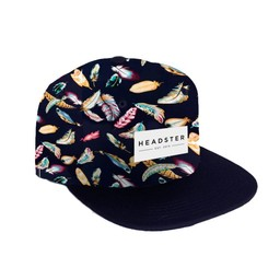 Headster Kids Headster Kids - Casquette Fly Away/Fly Away Cap, Plumes Noir/Black Feathers, Enfant/Kid