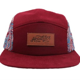 Headster Kids Headster Kids - Casquette Paisley/Paisley, Rouge/Red, Enfant/Kid
