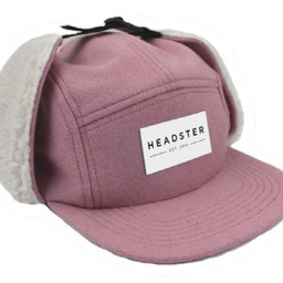 Headster Kids Headster Kids - Casquette d'Hiver Candy Hunter/Candy Hunter Winter Cap, Rose/Pink