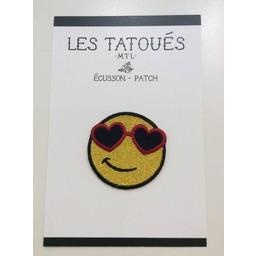 Les Tatoués Écusson Sourire de Les Tatoués/Les Tatoués Patch The Smiley