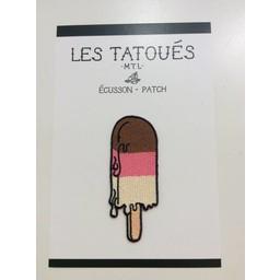 Les Tatoués Écusson Glace Napolitaine de Les Tatoués/Les Tatoués Patch The Neapolitan