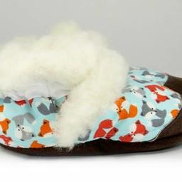 Pantoufles Petits Minous Petits Minous - Pantoufles/Slippers, Renardeaux