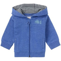Noppies Noppies - Veste ˆ Capuchon Haslett/Haslett Cardigan Sweat, Bleu/Blue