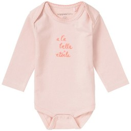 Noppies Noppies -  Cache-Couche Hamden/Hamden Romper, Rose/Pink