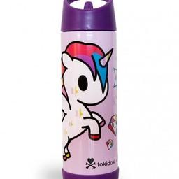 ZoLi Zoli - Bouteille Isolée TokiPIP/TokiPIP Insulated Drink Bottle, Unicorno