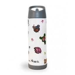 ZoLi Zoli - Bouteille Isolée TokiPIP/TokiPIP Insulated Drink Bottle, Cactus Friends