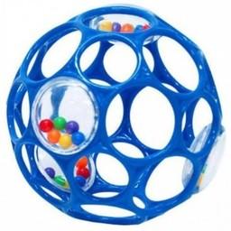 Oball Oball - Balle Hochet/Rattles, Bleu/Blue