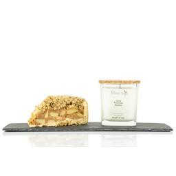 BlancSoja Blanc Soja - Bougie au Soja Tarte Pomme et Avoine, 220 ml/ Soja Candle Apple and Wheat Pie, 220 ml