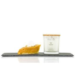 BlancSoja Blanc Soja - Bougie au Soja Tarte à La Citrouille, 220 ml/Pumpkin Pie Soja Candle, 220 ml