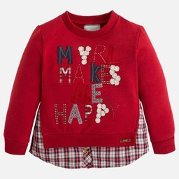 Mayoral *Pull Myrl Makes Me Happy de Mayoral/Mayoral Myrl Makes Me Happy Sweater