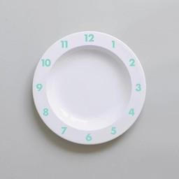 Buddy and Bear Ltd Buddy And Bear - Assiette de Plastique Dinner Time/Dinner Time Plastic Plate, Menthe/Mint