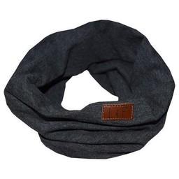 L&P L&P - Foulard de Coton Infinity/Infinity Cotton Scarf, Charcoal