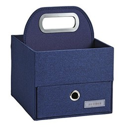 JJ Cole JJ Cole - Panier pour Couches et Lingettes/Diapers and Wipes Caddy, Marine/Navy