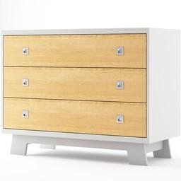 Dutailier Dutailier Pomelo - Commode à 3 Tiroirs/3 Drawers Dresser, GÉNÉRAL