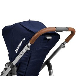 UPPAbaby Uppababy Cruz - Recouvrements de Guidon en Cuir/Leather Handlebar Covers Brun/Saddle