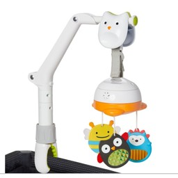 Skip Hop Skip Hop - Mobile de Voyage 3-en-1/3-In-1 Travel Mobile, Animaux/Animals