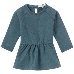 Noppies Noppies - Robe Ivrea/Dress Ivrea, Dark Green Melange