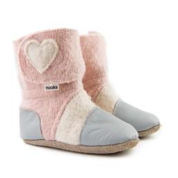 Nooks Design Nooks Design - Chaussons pour Bébé/Baby Slippers, Blossom