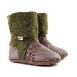 Nooks Design Nooks Design - Chaussons pour Bébé/Baby Slippers, Forest