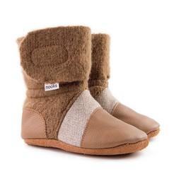 Nooks Design Nooks Design - Chaussons pour Bébé/Baby Slippers, Sand
