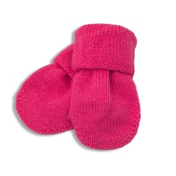 Margot Bis Margot Bis - Mitaine Mini/Mini Mitts, Rose/Pink, 0-12 mois