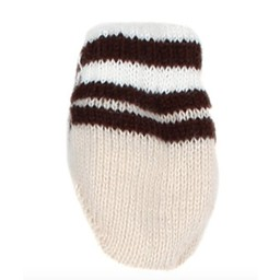 Margot Bis Margot Bis - Mitaine Blanca/Blanca Mitts, Brun/Brown, 0-12 mois/months