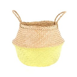 Olli Ella Olli Ella - Panier Jaune/Yellow Dipped Belly Basket, Médium/Medium