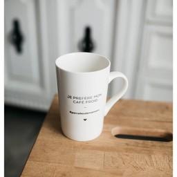 Parcelles & Co Parcelles & Co - Tasse Blanche/White Mug