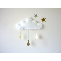 The Butter Flying The Butter Flying - Nuage Spring/Spring Cloud, Blanc/White