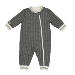 Juddlies Juddlies - Pyjama Cottage/Cottage Playsuit, Ours Noir/Bear Black