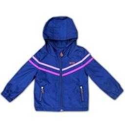 L&P L&P - Manteau D'extérieur Girls HE1/Girls HE1 Outwear Jacket, Noir, Mauve et Rose/Purple and Pink