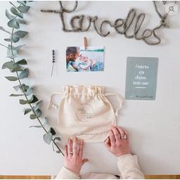 Parcelles & Co Parcelles & Co - Cartes de Présentation pour Bébé/Baby Presentation Cards