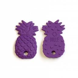 Bulle Bijouterie Bulle Bijouterie - Jouet de Dentition Ananas/Pineapple Teether, Violet/Purple