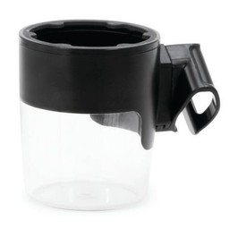 Nuna Nuna - Porte-Gobelet pour Poussette Nuna Mixx/Nuna Mixx Cup Holder, Noir/Balck