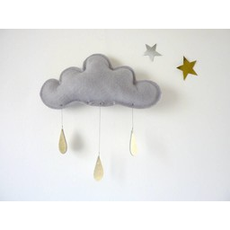 The Butter Flying The Butter Flying - Nuage Spring/Spring Cloud, Gris/Grey