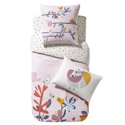 Catimini Catimini - Housse de Couette pour Lit Simple/Duvet Cover Single, Oiseau Chanteur