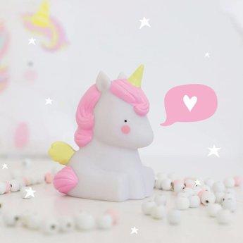 A Little Lovely Company A Little Lovely Company - Petite Veilleuse Licorne/Little Light Unicorn